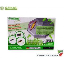 Isotronic CSP 77030 Capcana pentru interior cu lamele electrice anti gandaci si gandaci de canal 40mp