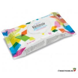 Dezinfectant Servetele umede (80buc) - Klintensiv