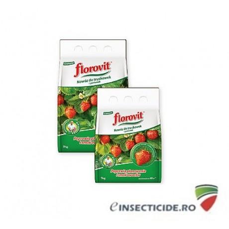 Ingrasamant specializat granulat pentru capsuni, fructe de padure si fragi  (3 Kg)