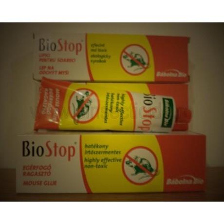Lipici anti soareci si sobolani non-toxic Biostop (135 gr)