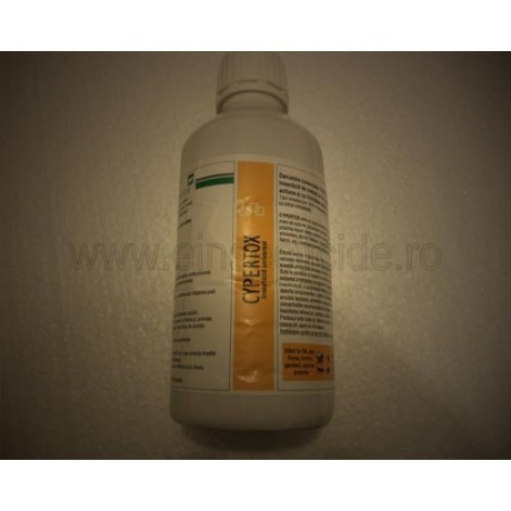 Scapa de capuse cu insecticiul de contact - Cypertox (1L)