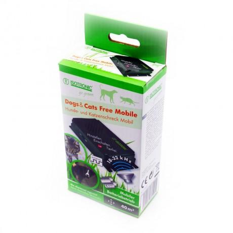 Free Mobile 70626 dispozitiv portabil cu ultrasunete pentru alungarea cainilor (40 mp)