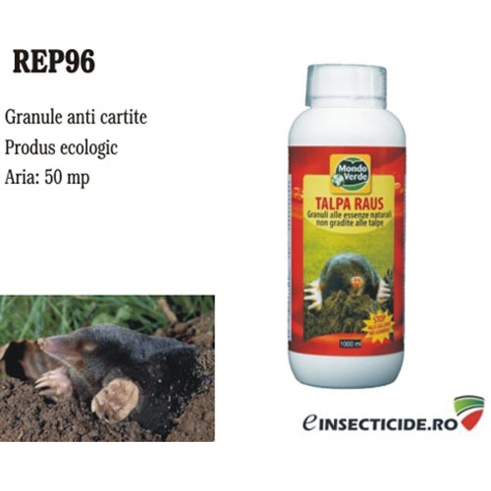 Granule contra cartitelor, soarecilor de camp si aricilor (1000 ml) - REP96