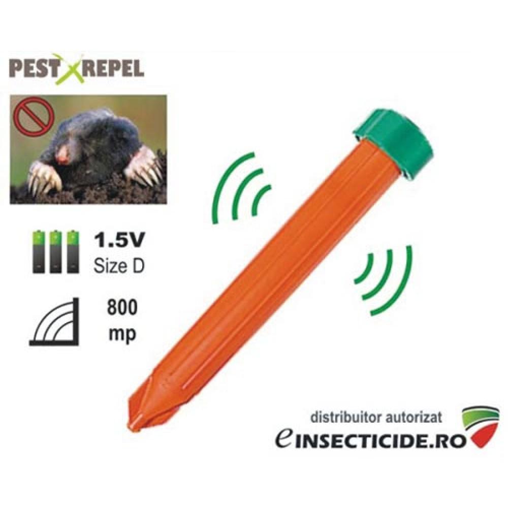 Aparat cu vibratii si alimentare pe baterii impotriva cartitelor (800 mp) - KR7