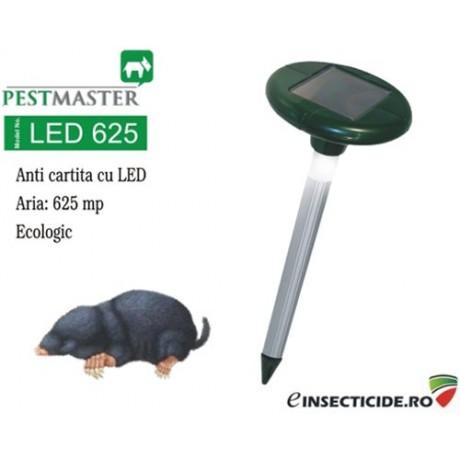 Anti cartita si alte rozatoare subterane solar cu vibratii (625mp) - Pestmaster LED625