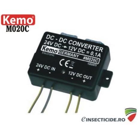 Convertor de tensiune 24V-12V - M020