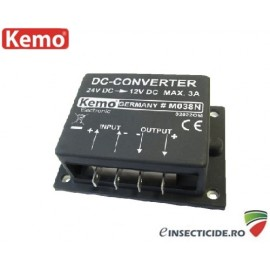 Convertor de tensiune 24V/12V - M038N