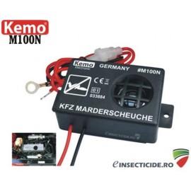Dispozitiv electronic cu alimentare la 12V si ultrasunete pentru protectia auto - M100