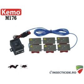 Anti jderi si rozatoare auto cu ultrasunete si socuri electrice 12V/DC - M176