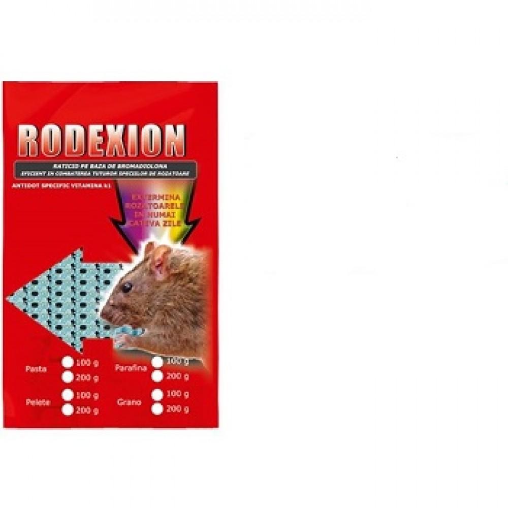 Momeala raticida contra rozatoarelor (200gr) - Rodexion Micropelete