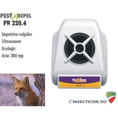 Dispozitiv cu ultrasunete pentru alungarea vulpilor (360 mp) - PR220.4