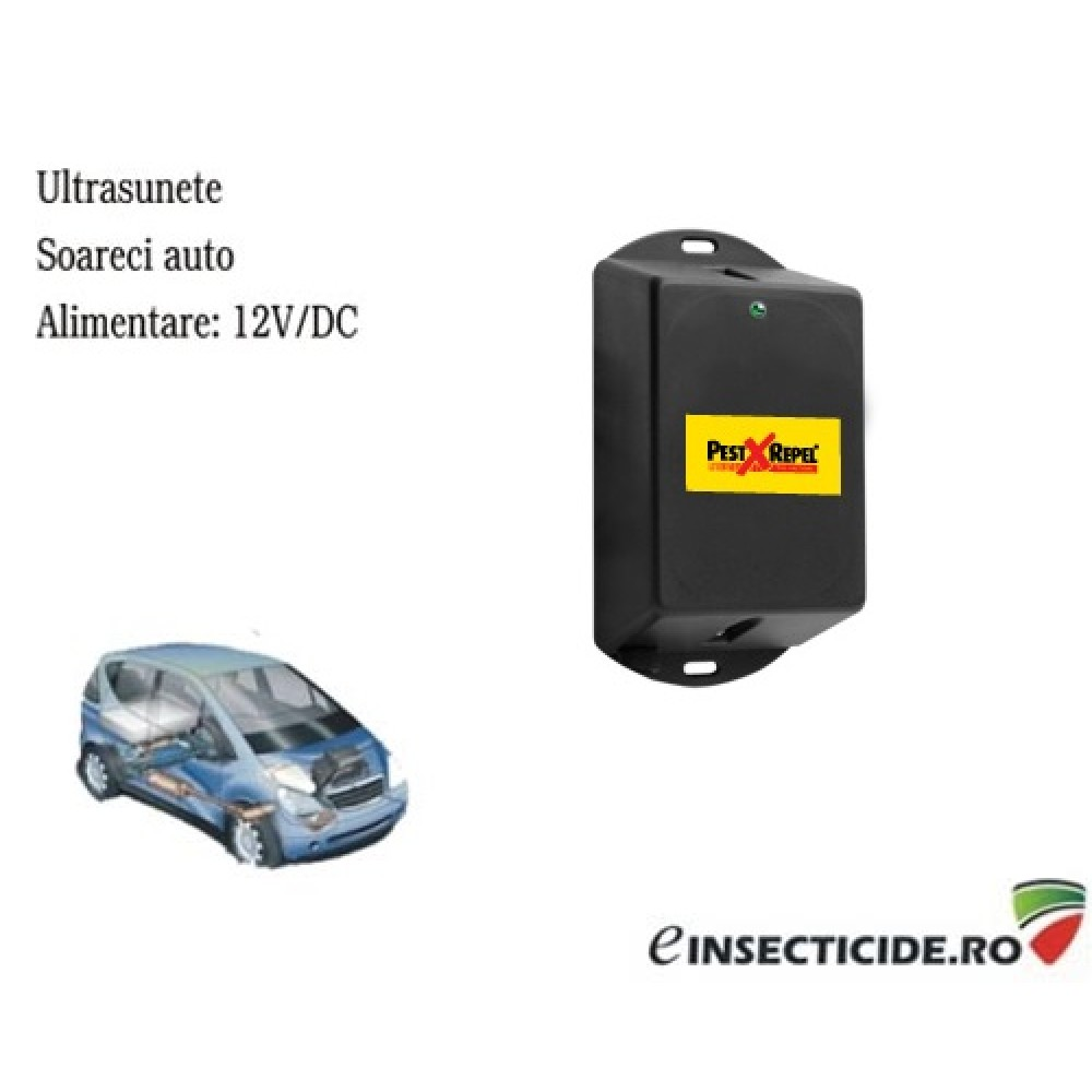 Dispozitiv electronic auto anti rozatoare PestXRepel PR-12.1 - 20 mp