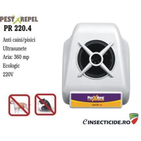 Dispozitiv cu ultrasunete pentru alungarea cainilor (360 mp) - PR220.4