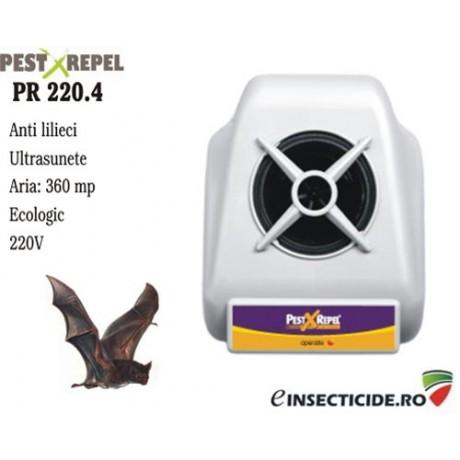 Contra liliecilor cu ultrasunete pe suprafete de pana la 360 mp - PR220.4