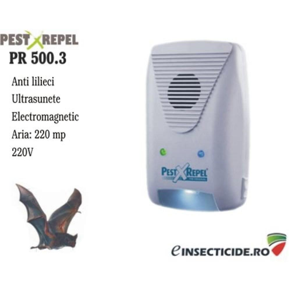 Aparat impotriva liliecilor cu ultrasunete (220 mp) - PR 500.3