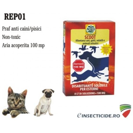 Praf solubil anti pisici si caini (150 gr) - REP01