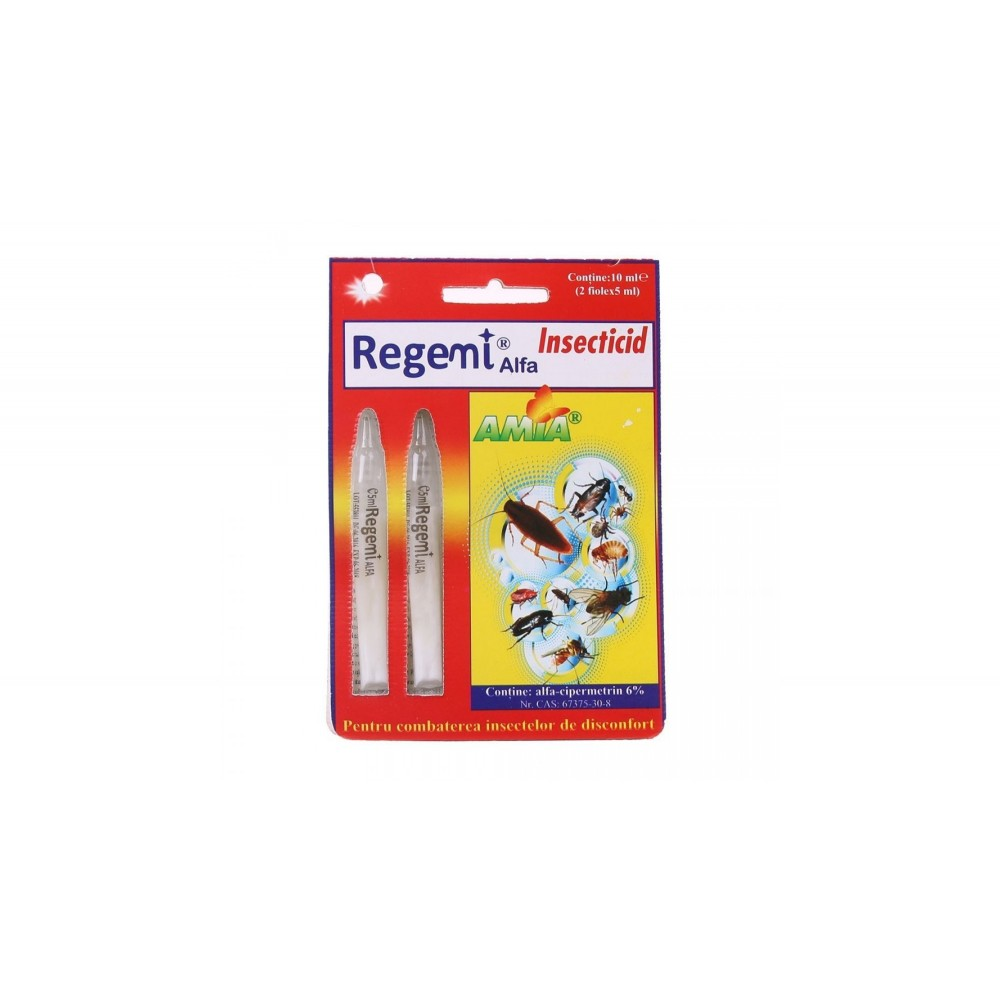 REGEMI - solutie anti gandaci si insecte taratoare 2x5 ml