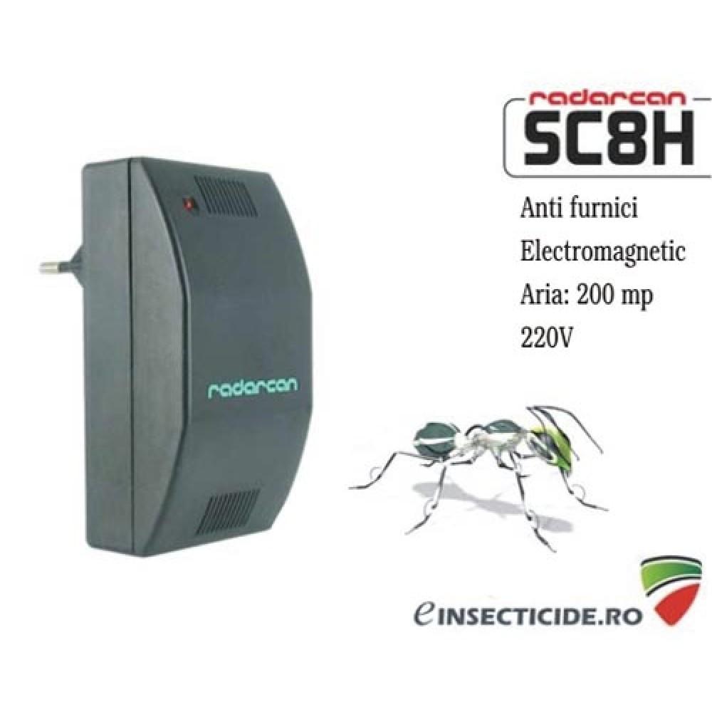 -35% reducere Dispozitiv electronic destinat alungarii furnicilor (200mp) - SC8H