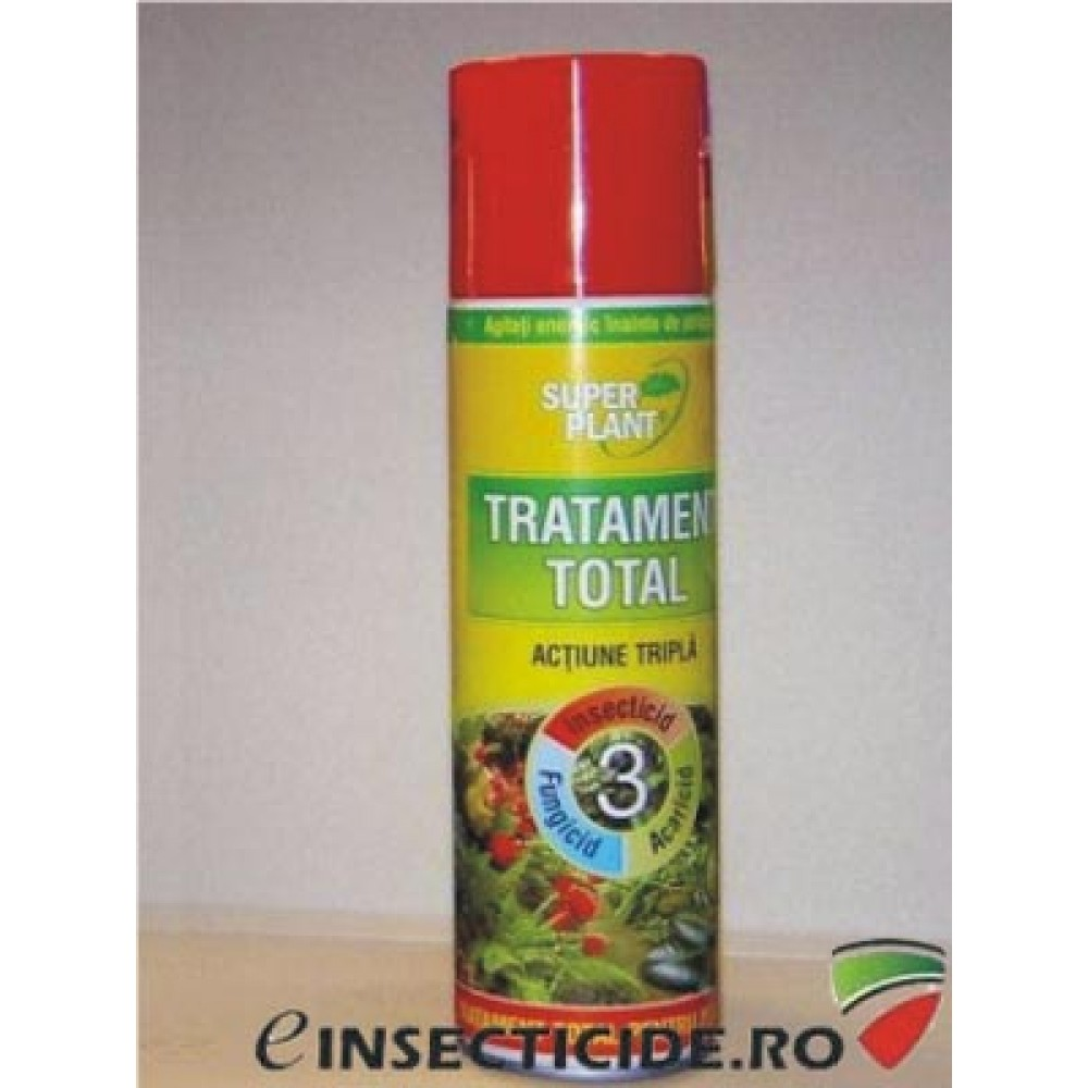 Spray tratament total pentru plante 250ml - Super Plant
