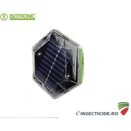 Dispozitiv mobil cu alimentare solara pentru alungarea pisicilor si a pasarilor Isotronic US1 70600 (100mp/360°)